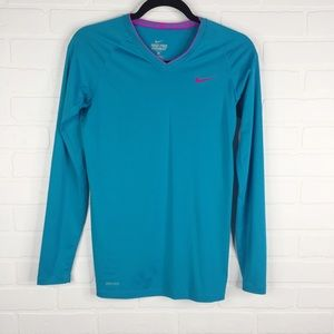 Nike Pro Combat Fitted Long Sleeve Dri-Fit Small